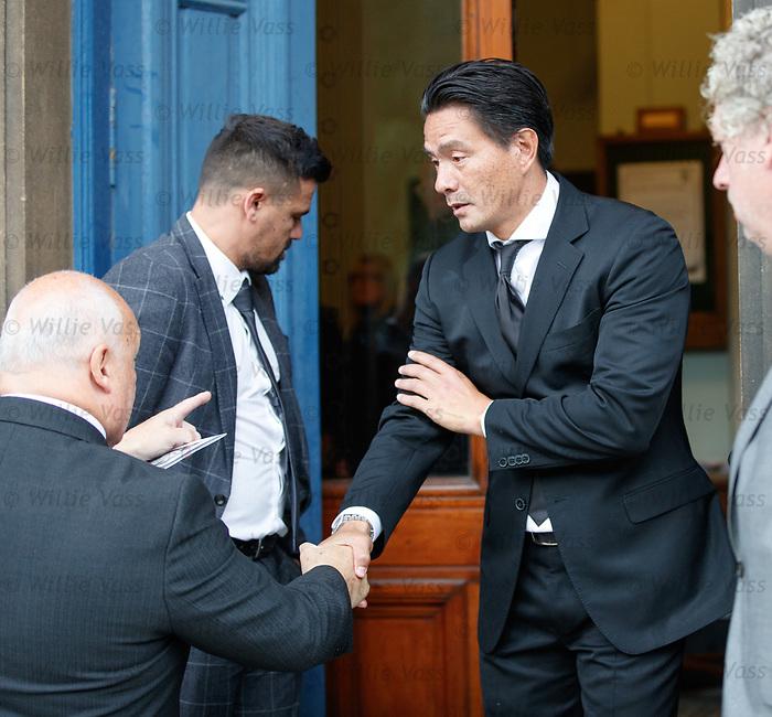 25.09.2018 Funeral service for Fernando Ricksen: michael mols
