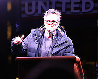 www.acepixs.com<br /> <br /> January 19 2017, New York City<br /> <br /> Mark Ruffalo speaks at an anti-Trump rally outside TrumpmTower on January 19 2017 in New York City<br /> <br /> By Line: Zelig Shaul/ACE Pictures<br /> <br /> <br /> ACE Pictures Inc<br /> Tel: 6467670430<br /> Email: info@acepixs.com<br /> www.acepixs.com