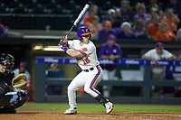 Weston Jackson (15) of the Clemson Tigers at bat against the Duke Blue Devils in Game Three of the 2017 ACC Baseball Championship at Louisville Slugger Field on May 23, 2017 in Louisville, Kentucky. The Blue Devils defeated the Tigers 6-3. (Brian Westerholt/Four Seam Images)