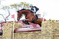 NZL-Megan Heath (ST DANIEL) ELIMINATED: CROSS COUNTRY: 2016 GBR-Mitsubishi Motors Badminton Horse Trials CCI4* (Saturday 7 May) CREDIT: Libby Law COPYRIGHT: LIBBY LAW PHOTOGRAPHY