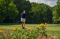 Cristie Kerr (USA) watches her tee shot on 11 during round 1 of the 2018 KPMG Women's PGA Championship, Kemper Lakes Golf Club, at Kildeer, Illinois, USA. 6/28/2018.<br /> Picture: Golffile | Ken Murray<br /> <br /> All photo usage must carry mandatory copyright credit (&copy; Golffile | Ken Murray)