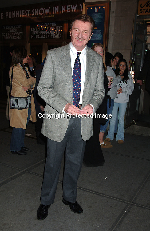 """Larry Bryggman ..at The Broadway opening of """"Festen"""" on April 9, 2006 ..at The Music Box Theatre. The show stars, Ali MacGraw, ..Larry Bryggman, Jeremy Sisto and Julianna Margulies. ..Robin Platzer, Twin Images"""