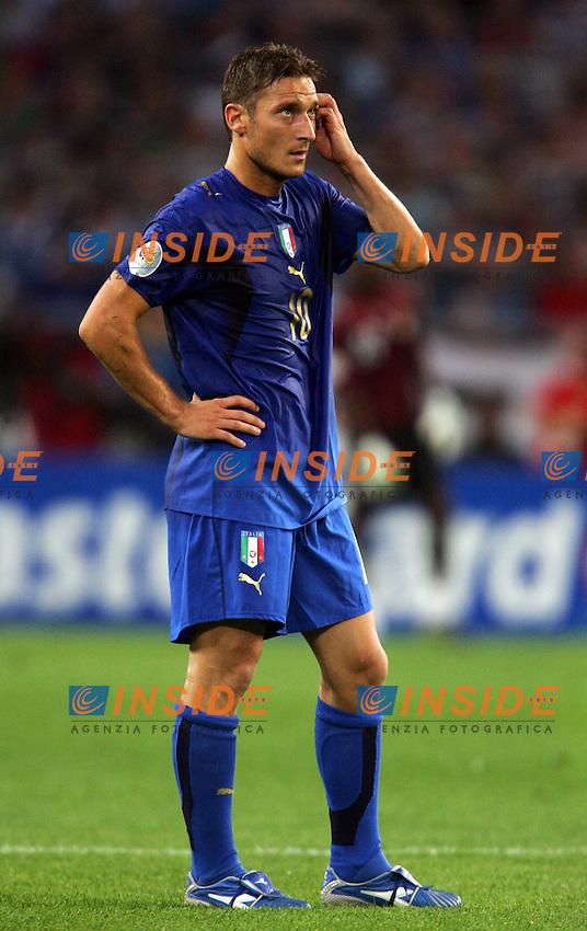 Hanover 12/6/2006 World Cup 2006.Italia Ghana 2-0.Photo Andrea Staccioli Insidefoto.Francesco Totti Italy
