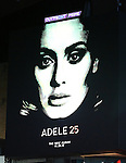 Adele 25 - Times Square Billboard
