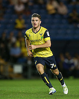 Dan Crowley of Oxford United in action during the The Checkatrade Trophy match between Oxford United and Exeter City at the Kassam Stadium, Oxford, England on 30 August 2016. Photo by Andy Rowland / PRiME Media Images.