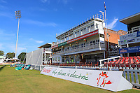 General view of the pavilion ahead of Leicestershire CCC vs Essex CCC, Specsavers County Championship Division 2 Cricket at the Fischer County Ground, Grace Road on 24th August 2016