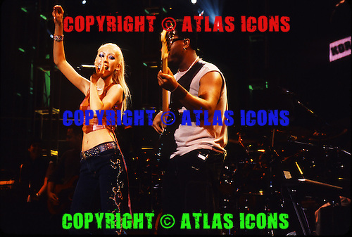 CHRISTINA AGUILERA, Live, In New York City, 2000.Photo Credit: Eddie Malluk/Atlas Icons.com