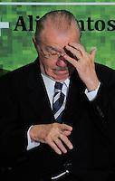 BRASILIA, DF, 04 DE JULHO DE 2012 - O presidente do Congresso Nacional Jose Sarney durante cerimonia de lancamento do Plano Safra da Agricultura Familiar 2012/2013, no Palacio do Planalto nesta quarta-feira, 04. - Foto: Pedro Franca/Brazil Photo Press