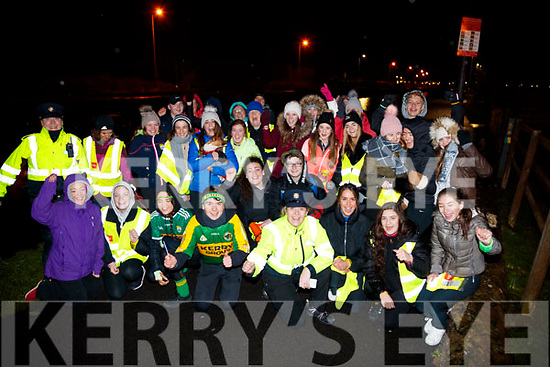 Pictured at the Mounthawk Family First Walk, at the Canal on Friday night last