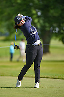 Angel Yin (USA) watches her tee shot on 12 during the round 1 of the KPMG Women's PGA Championship, Hazeltine National, Chaska, Minnesota, USA. 6/20/2019.<br /> Picture: Golffile | Ken Murray<br /> <br /> <br /> All photo usage must carry mandatory copyright credit (© Golffile | Ken Murray)
