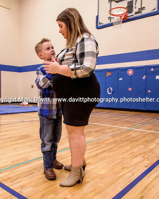 Bondurant hosted a Mother and Son Hoedown March 25 at Anderson Elementary. Everyone had a rootin' tooting' time with lots of snacks, games, crafts, music and dancing too. Hanah Dolash and her son Chance had a dance.