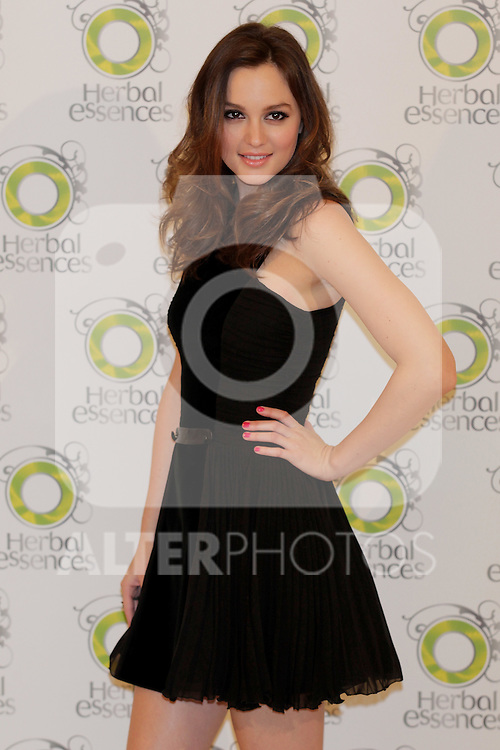 Actress Leighton Meester attends a photocall for 'Herbal Essences' at the Hesperia Hotel on November 24, 2010 in Madrid, Spain...Photo: MAC / ALFAQUI