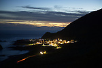 Orchid Island (蘭嶼), Taiwan -- Hongtou Village on the Orchid Island west coast after sunset.