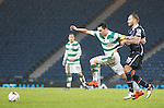 Scott Brown tugged back by Martin Woods