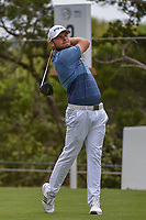 Tyrrell Hatton (ENG) watches his tee shot on 2 during day 3 of the WGC Dell Match Play, at the Austin Country Club, Austin, Texas, USA. 3/29/2019.<br /> Picture: Golffile | Ken Murray<br /> <br /> <br /> All photo usage must carry mandatory copyright credit (© Golffile | Ken Murray)