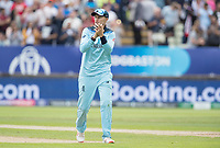 Joe Root (England) applauds the bowling and fielding unit during Australia vs England, ICC World Cup Semi-Final Cricket at Edgbaston Stadium on 11th July 2019