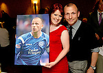St Johnstone FC Players Awards Night...01.05.11  Lovatt Hotel Perth..Jody Morris.Picture by Graeme Hart..Copyright Perthshire Picture Agency.Tel: 01738 623350  Mobile: 07990 594431