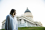 1707-04 0016<br /> <br /> 1707-04 Kelly Petersen at State Capitol<br /> <br /> Graduate from the MPA Program<br /> <br /> July 5, 2017<br /> <br /> Photography by Nate Edwards/BYU<br /> <br /> © BYU PHOTO 2017<br /> All Rights Reserved<br /> photo@byu.edu  (801)422-7322