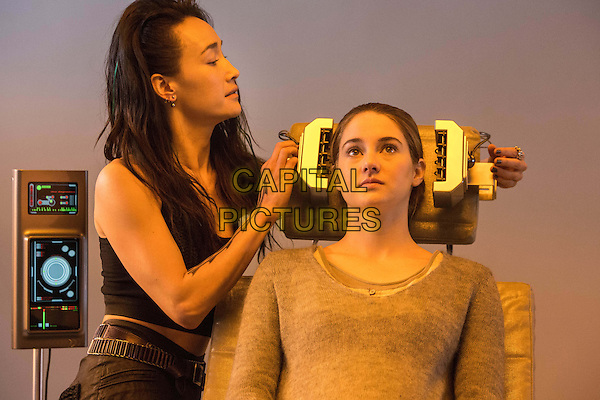 Shailene Woodley, Maggie Q<br /> in Divergent (2014) <br /> *Filmstill - Editorial Use Only*<br /> CAP/NFS<br /> Image supplied by Capital Pictures
