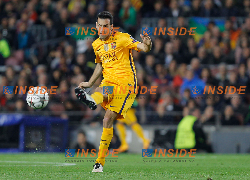 busquets (barca)<br />  <br /> Barcellona 05-04-2016 <br /> Football Calcio 2015/2016 Champions League <br /> Barcellona - Atletico Madrid Quarti di finale<br /> Foto Panoramic / Insidefoto <br /> ITALY ONLY