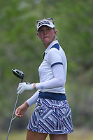 Jessica Korda (USA) watches her tee shot on 5 during round 4 of the 2019 US Women's Open, Charleston Country Club, Charleston, South Carolina,  USA. 6/2/2019.<br /> Picture: Golffile | Ken Murray<br /> <br /> All photo usage must carry mandatory copyright credit (© Golffile | Ken Murray)
