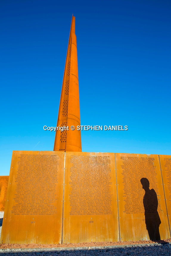 Photo by © Stephen Daniels <br /> The International Bomber Command Memorial Spire, Lincoln.