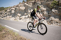 VERY hot (35°C) rest day 2 training ride with Team Mitchelton-Scott <br /> <br /> <br /> 106th Tour de France 2019 (2.UWT)<br /> <br /> ©kramon