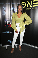 10 July 2019 - Los Angeles, California - Malinda Williams. LA Press Junket For TV One's A Month Of Love, Lies, And Murder held at TV One Headquarters. Photo Credit: Faye Sadou/AdMedia