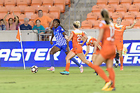 Houston, TX - Saturday July 22, 2017: Ifeoma Onumonu during a regular season National Women's Soccer League (NWSL) match between the Houston Dash and the Boston Breakers at BBVA Compass Stadium.