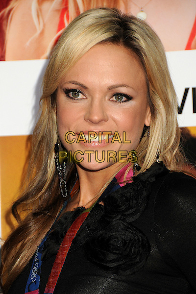 "JENNY FINCH.""How Do You Know"" Los Angeles Premiere held at the Regency Village Theater, Westwood, California, USA..December 13th, 2010.headshot portrait black corsage make-up highlighter concealer beauty .CAP/ADM/BP.©Byron Purvis/AdMedia/Capital Pictures."