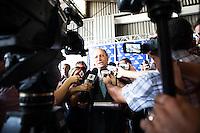 """SAO PAULO, SP, 04 DE MARCO 2013 -INVESTIMENTOS GRAU -  O Governador de Sao Paulo Geraldo Alckmin, juntamente com o secretario de Estado da Saude de Sao Paulo Giovanni Guido Cerri - assina a ampliacao de investimentos para a """"tropa de elite"""" do resgate medico, aereo e terrestre, a vitimas de acidentes e violencia em todo Estado do GRAU (Grupo de Atendimento e Resgate as Urgencias). .No Campo de Marte região nrote de São Paulo. (FOTO: POLINE LYS / BRAZIL PHOTO PRESS)."""