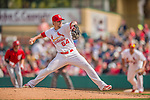 2 March 2013: St. Louis Cardinals pitcher Michael Blazek on the mound during a Spring Training game against the Washington Nationals at Roger Dean Stadium in Jupiter, Florida. The Nationals defeated the Cardinals 6-2 in their first meeting since the NLDS series in October of 2012. Mandatory Credit: Ed Wolfstein Photo *** RAW (NEF) Image File Available ***