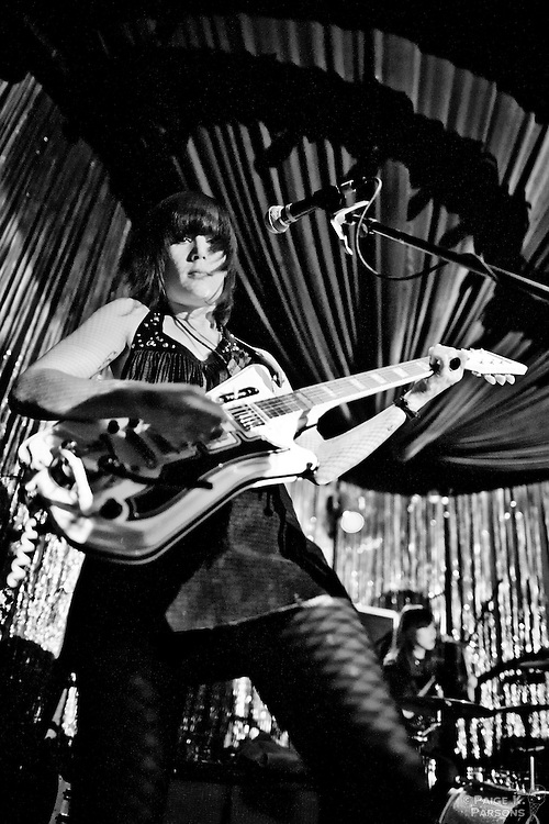 """The Dum Dum Girls perform at The Blank Club in San jose, CA Ocrober 5th, 2011 in support of their new Sub Pop release, """"Only In Dreams""""....Connect:.----------------------------------------.Prints.Twitter.Google+.Facebook.Paige K. Parsons Photography.----------------------------------------"""