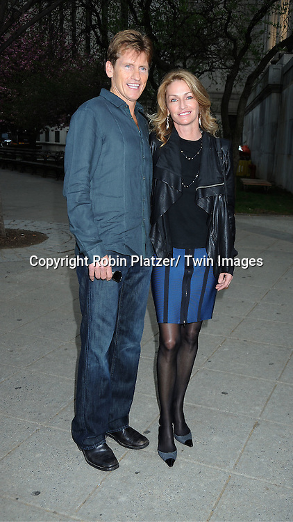 Denis Leary and wife Ann Leary attending at The Vanity Fair Tribeca Film Festival Party on .April 27, 2011 at The State Supreme Courthouse in New York City.