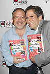 Marc Shaiman and Seth Rudetsky attends the Seth Rudetsky Book Launch Party for 'Seth's Broadway Diary' at Don't Tell Mama Cabaret on October 22, 2014 in New York City.