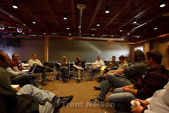 The K2 Church hosted a meeting Thursday, November 19 2009 of 66 pastors from throughout the country who in some way are involved in planting new Protestant churches in Utah.