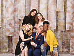 Kristen Wiig (from top left, clockwise), Melissa McCarthy, Leslie Jones, and Kate McKinnon star in the remake of &quot;Ghostbusters&quot;. They pose for a portrait at the Hollywood Roosevelt Hotel in Los Angeles, California June 7, 2016. <br /> <br /> Photo by Brinson+Banks