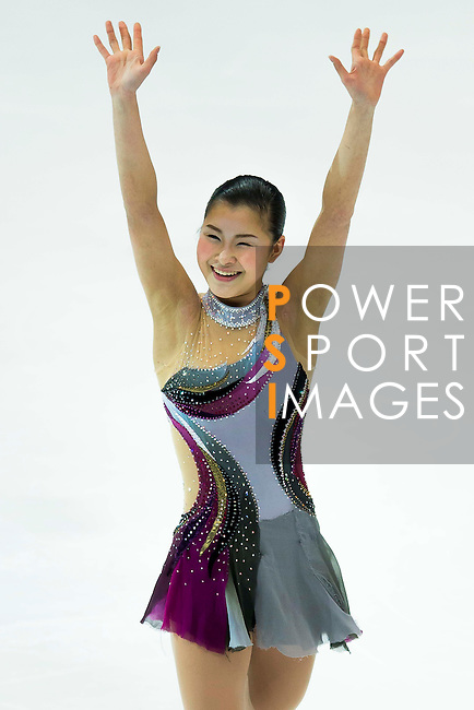 TAIPEI, TAIWAN - JANUARY 23:  Kanako Murakami of Japan performs her routine at the Ladies Short Program event during the Four Continents Figure Skating Championships on January 23, 2014 in Taipei, Taiwan.  Photo by Victor Fraile / Power Sport Images *** Local Caption *** Kanako Murakami