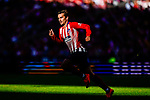 Antoine Griezmann of Atletico de Madrid in action during the La Liga 2018-19 match between Atletico de Madrid and Real Betis at Wanda Metropolitano Stadium on October 07 2018 in Madrid, Spain. Photo by Diego Souto / Power Sport Images