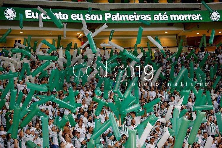 SÃO PAULO, SP 08.05.2019: PALMEIRAS-SAN LORENZO (ARG) - Torcida. Palmeiras e San Lorenzo-ARG, em jogo válido pela sexta rodada da Libertadores, no Allianz Parque, zona oeste da capital, na noite desta quarta-feira (08). (Foto: Ale Frata/Codigo19)