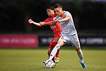 BRISBANE, AUSTRALIA - MARCH 15:  during the NPL Queensland Senior Mens Round 6 match between Olympic FC and Brisbane Roar Youth at Goodwin Park on March 15, 2020 in Brisbane, Australia. (Photo by Patrick Kearney)