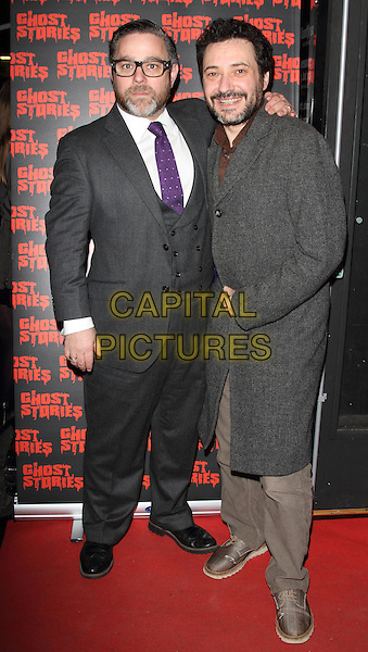 LONDON, ENGLAND - FEBRUARY 27:  Andy Nyman and Jeremy Dyson attends the 'Ghost Stories' Press Night at the Arts Theatre on February 27, 2014 in London, England.<br /> CAP/ROS<br /> &copy;Steve Ross/Capital Pictures