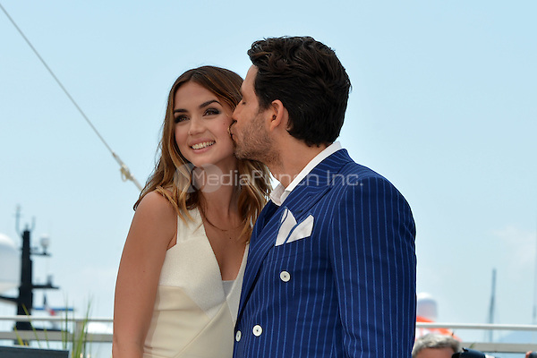 Ana de Armas and Edgar Ramirez at the Photocall 'Hands of Stone' - 69th Cannes Film Festival on May 16, 2016 in Cannes, France.<br /> CAP/LAF<br /> &copy;Lafitte/Capital Pictures /MediaPunch ***NORTH AND SOUTH AMERICA ONLY***