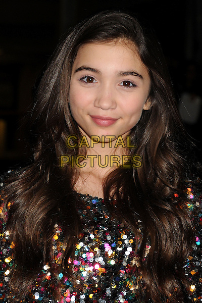4 February 2014 - Los Angeles, California - Rowan Blanchard. &quot;Vampire Academy&quot; Los Angeles Premiere held at Regal Cinemas L.A. Live. <br /> CAP/ADM/BP<br /> &copy;Byron Purvis/AdMedia/Capital Pictures