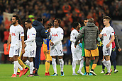 6th December 2017, Wembley Stadium, London England; UEFA Champions League football, Tottenham Hotspur versus Apoel Nicosia; Kazaiah Sterling shakes hands at the end of the game