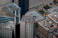 aerial photograph 345 California Center, 240 Front Street, San Francisco
