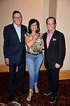 HOLLYWOOD, FL - OCTOBER 25: John 'Frooty' Kross, Mark Levinson and Guest attend the 13th Annual Footy's Bubbles & Bones Gala at Westin Diplomat resort and Spa on October 25, 2013 in Hollywood, Florida. (Photo by Johnny Louis/jlnphotography.com)