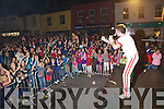 'Freddie Mercury' and The Queen Experience entertained a huge crowd at the opening night of the Cahersiveen Music Festival on Friday night.