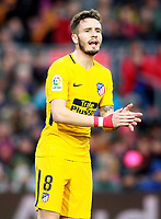 Atletico de Madrid's Saul Niguez during La Liga match. March 4,2018. (ALTERPHOTOS/Acero) /NortePhoto.com NORTEPHOTOMEXICO
