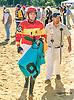 Chief of Hearts before The Longines Gentlemans International Fegentri race at Delaware Park on 9/14/15 - Mr. Brendan Brooks aboard